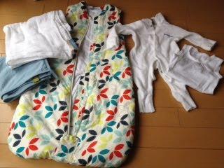 What baby wears in winter in Japan