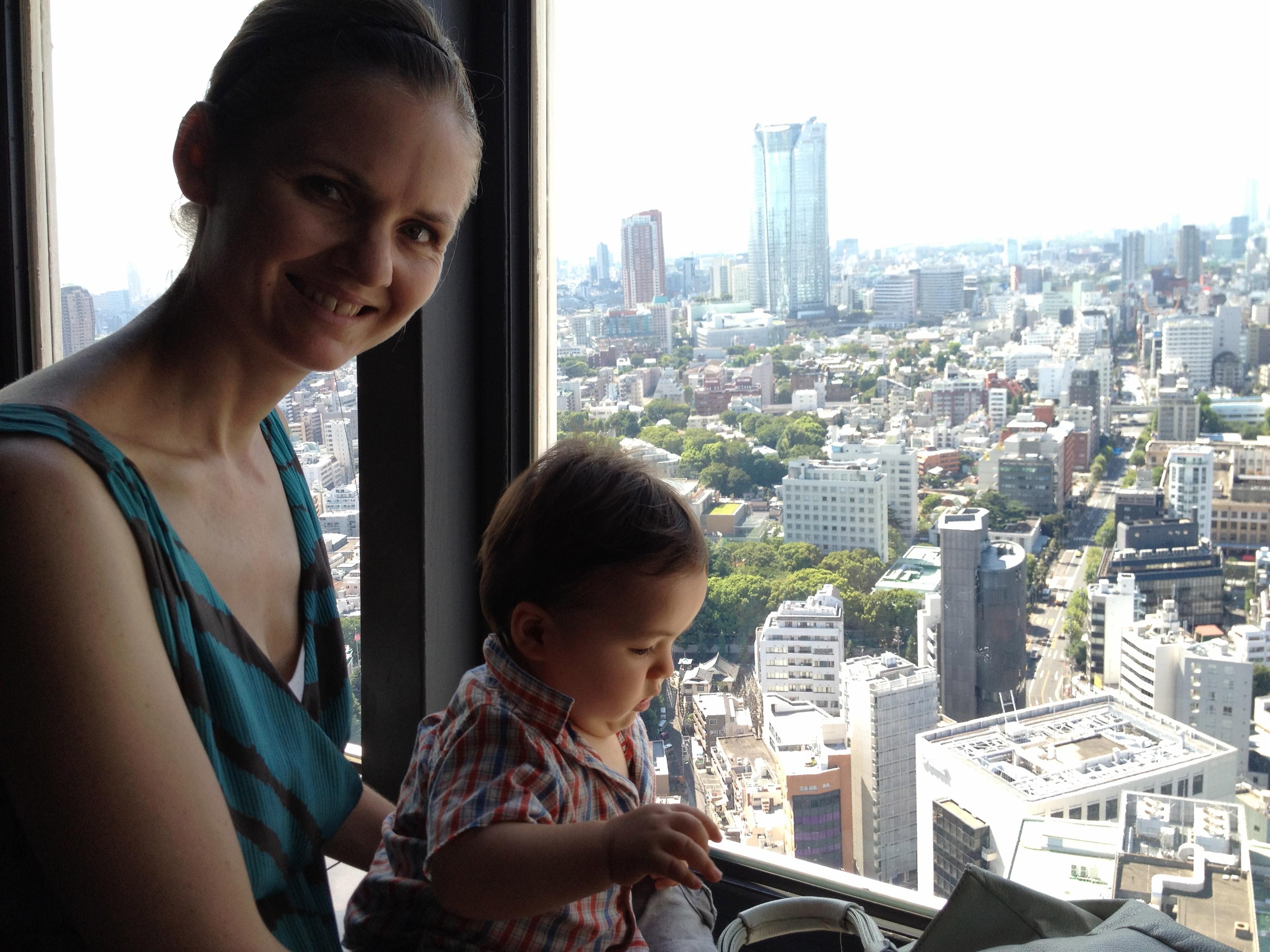 Enjoying the view! – Tokyo Urban Baby