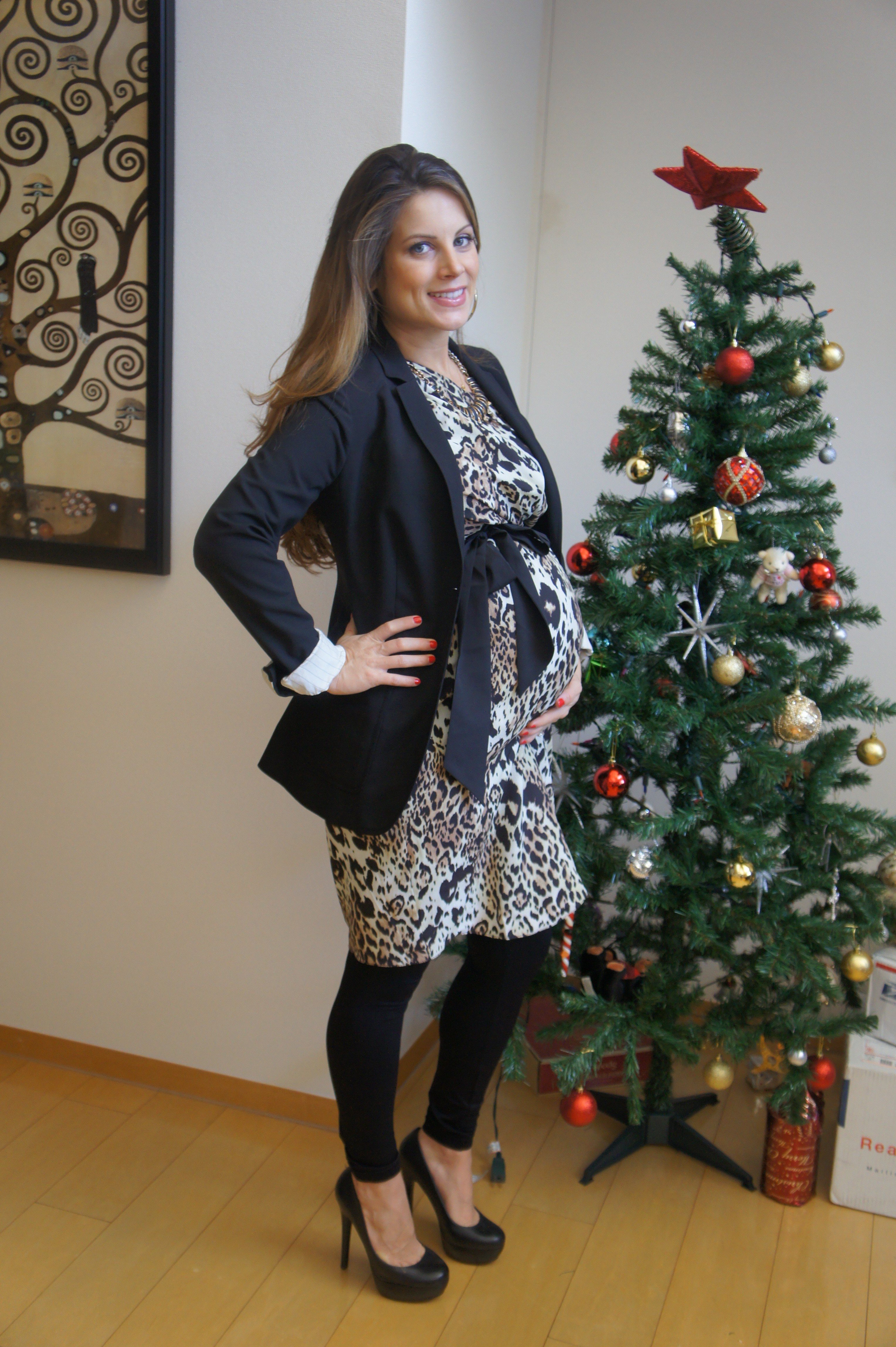 Looking gorgeous in asos leopard maternity dress with tie blazer looking gorgeous in asos leopard maternity dress with tie blazer ombrellifo Images