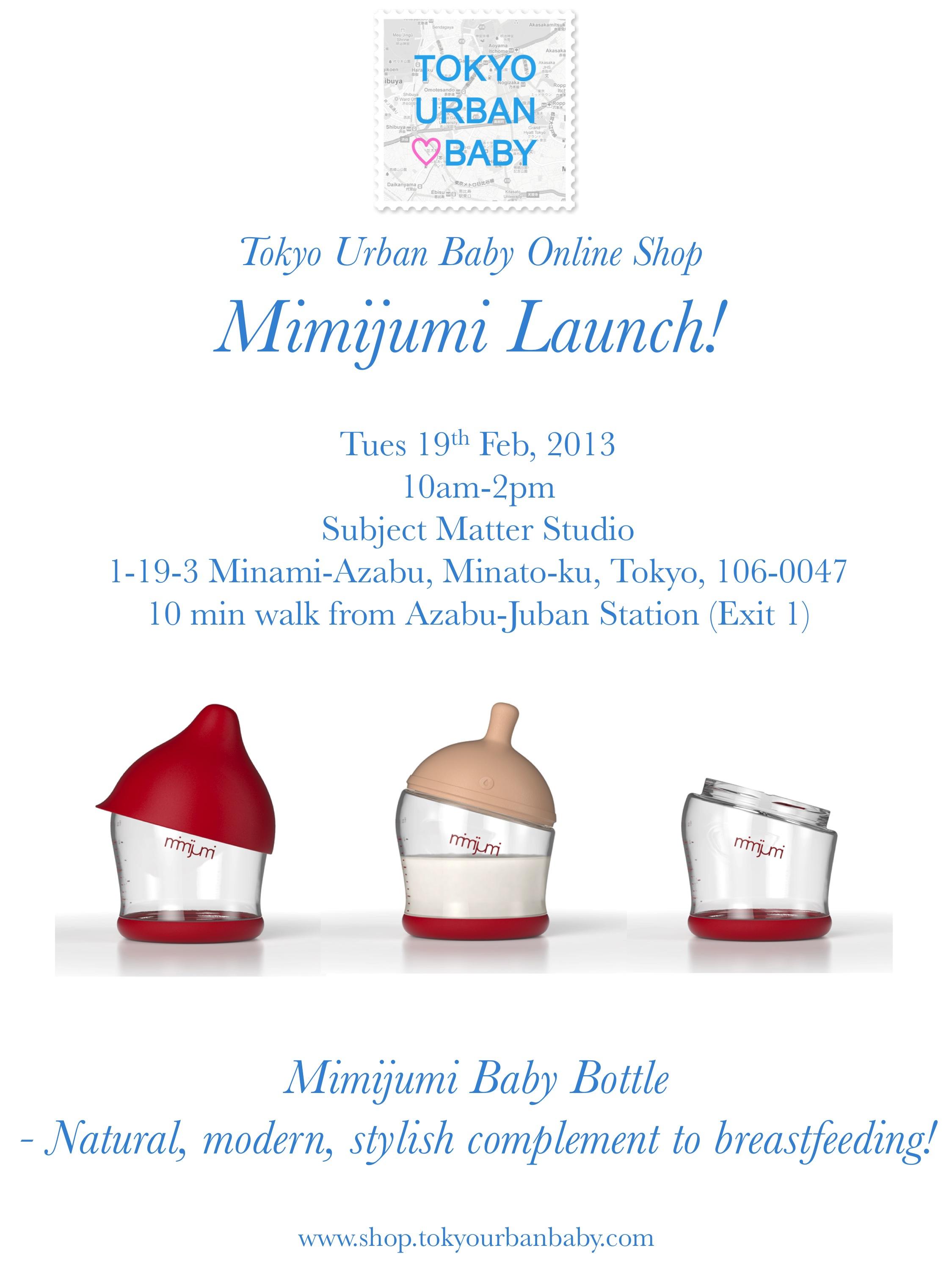 Mimijumi launch poster