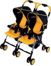 Rental double stroller from online shop in Japan www.darling.co.jp