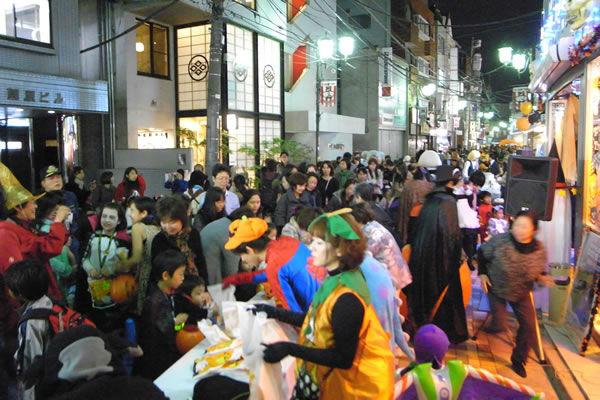 Yoyogi Uehara Halloween trick or treat