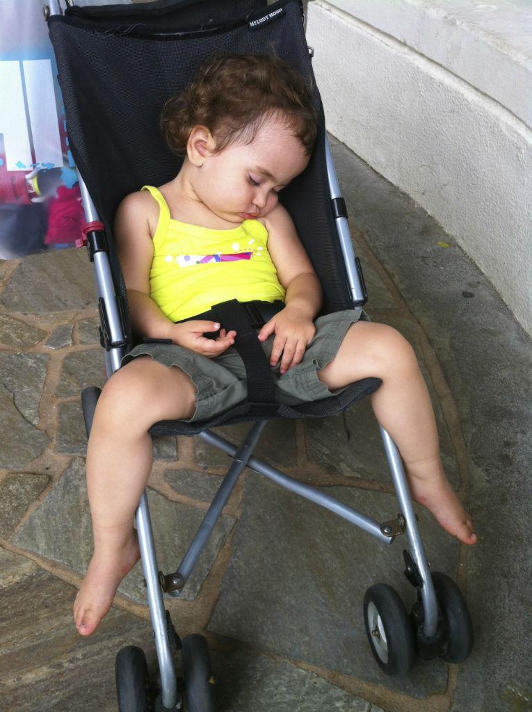 Stroller Sleeping
