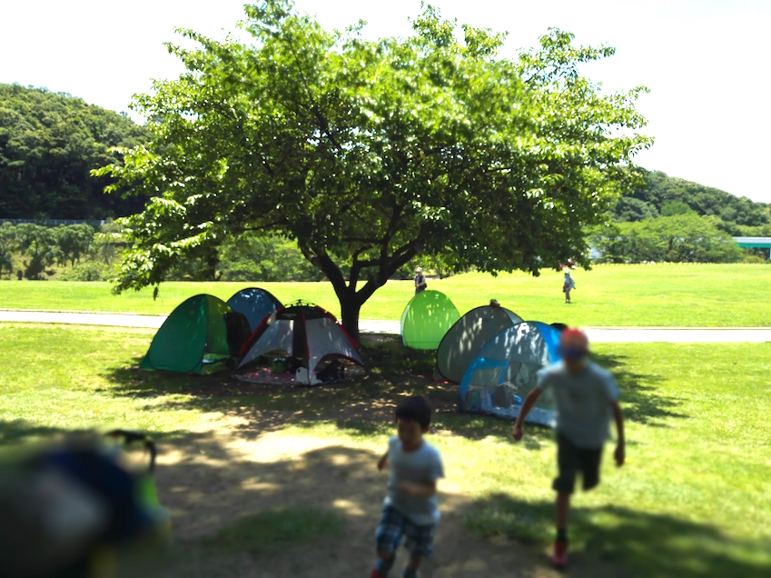 You can even bring your tent! Great way to relax and spend the whole day at the park