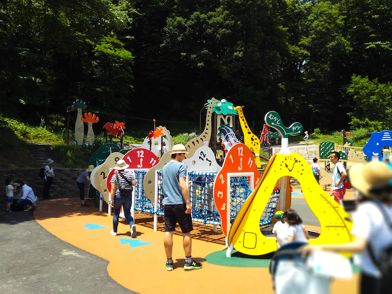 Another fantastic playground, but it was in the sun so it was burning hot!