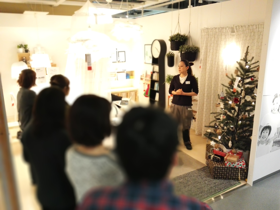 The Christmas tree decorating workshop was great and gave us the opportunity to learn from the IKEA staff about all the types of trees and decorations available as well as how to coordinate it with your home and style.