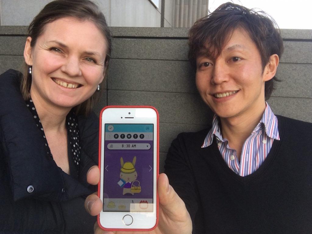 Checkie app by Mac Funamizu, Enfani Japan
