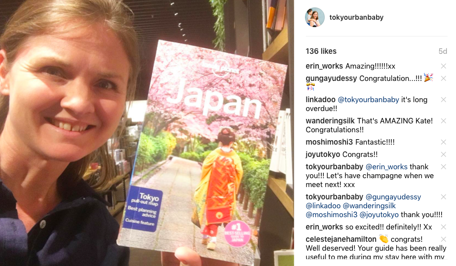 Tokyo Urban Baby in Lonely Planet Travel Guide for Japan