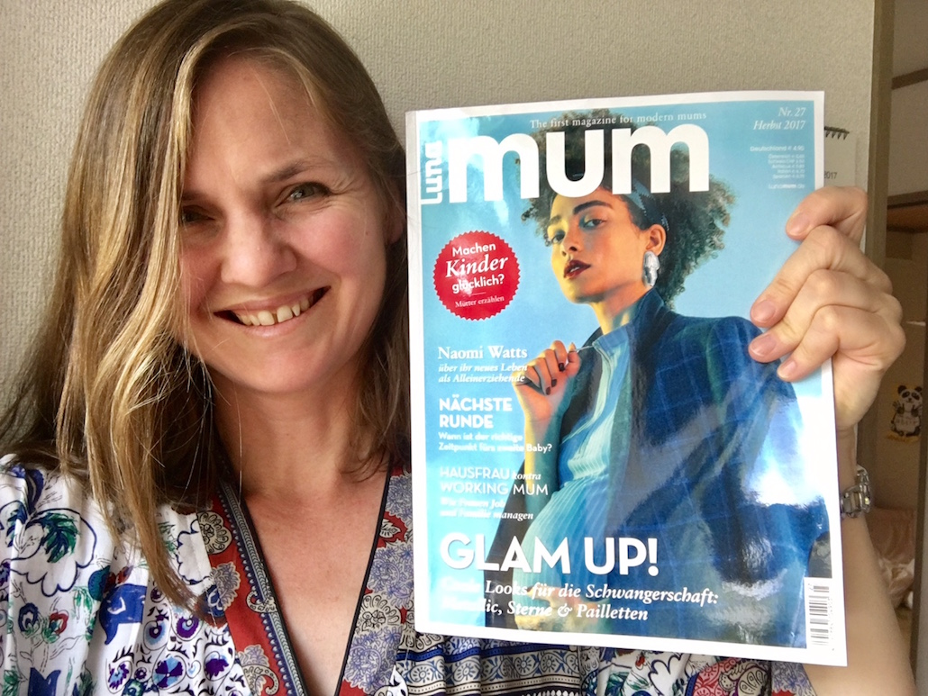 Kate Neath in Luna Mum magazine