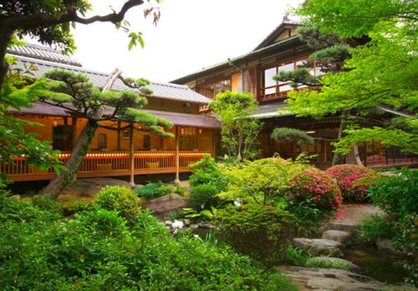 Ganko restaurant Kyoto garden