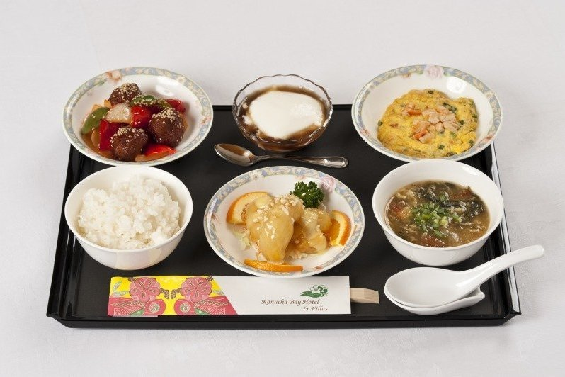 Okinawa Kanucha baby-friendly hotel kids food