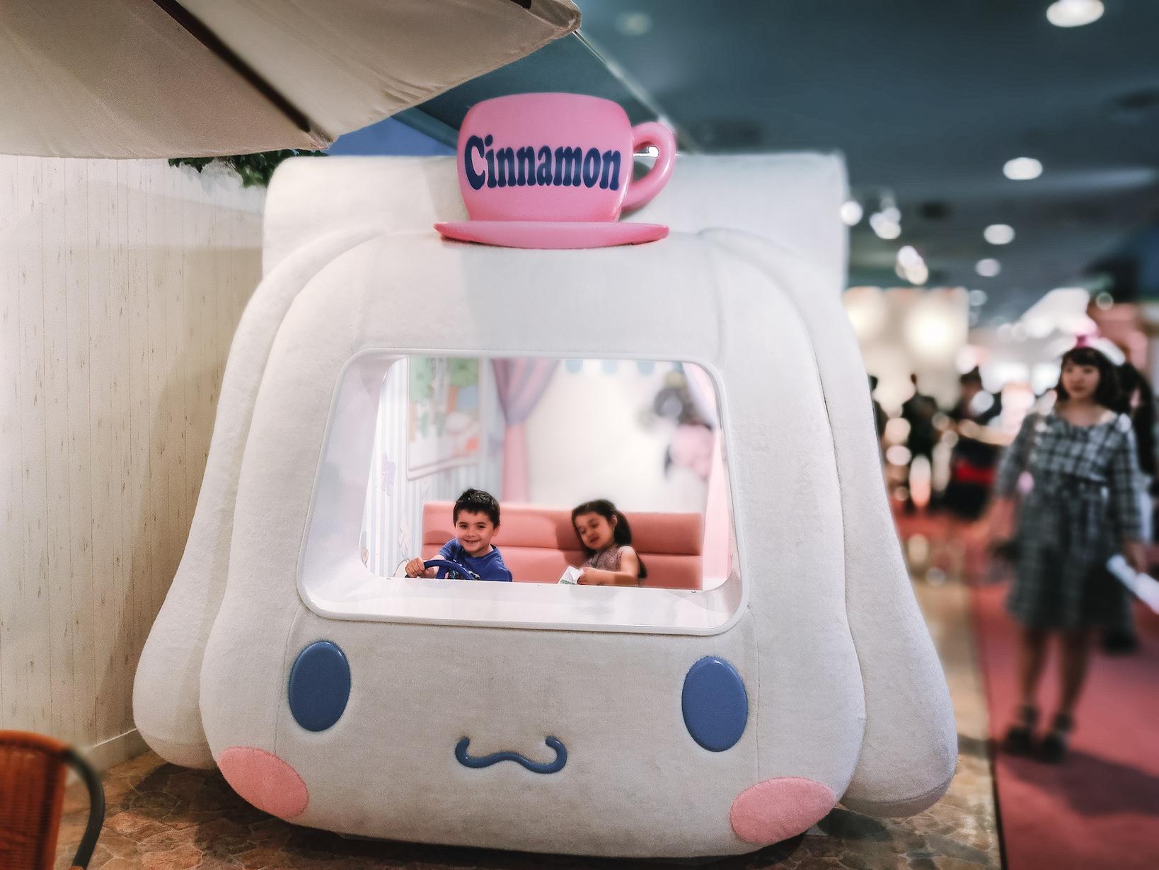 Sanrio Puroland cute Cinnamon car