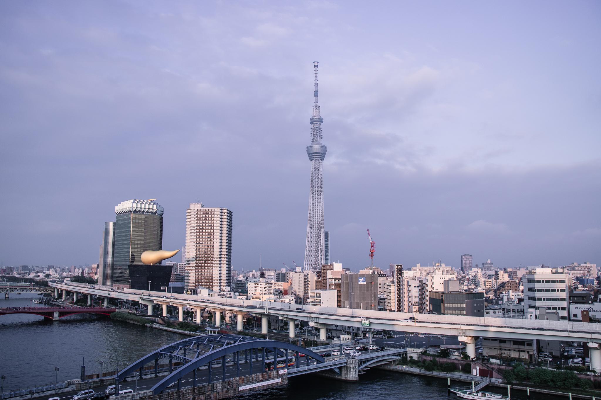 Hotel Amanek Asakusa Ekimae view Tokyo Skytree