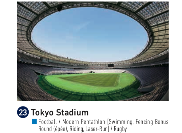 Tokyo Stadium for Olympics rugby