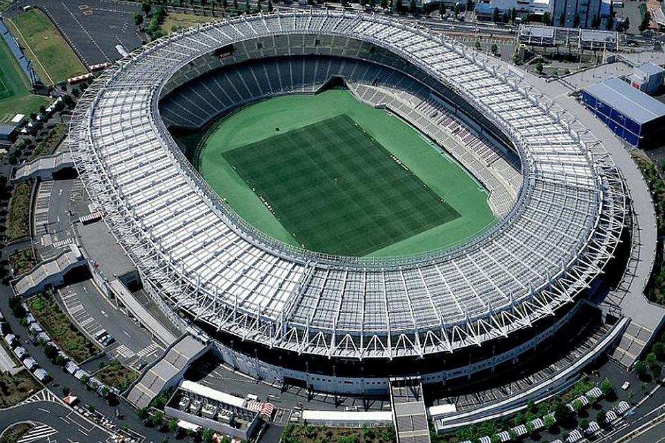 Tokyo Stadium for the Rugby World Cup 2019 Japan