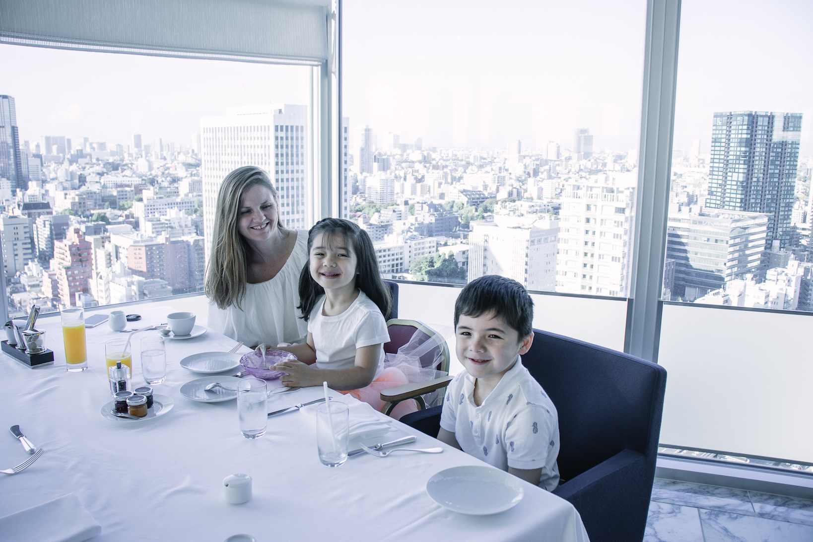 Child-friendly Prince Park Tower Tokyo Hotel breakfast