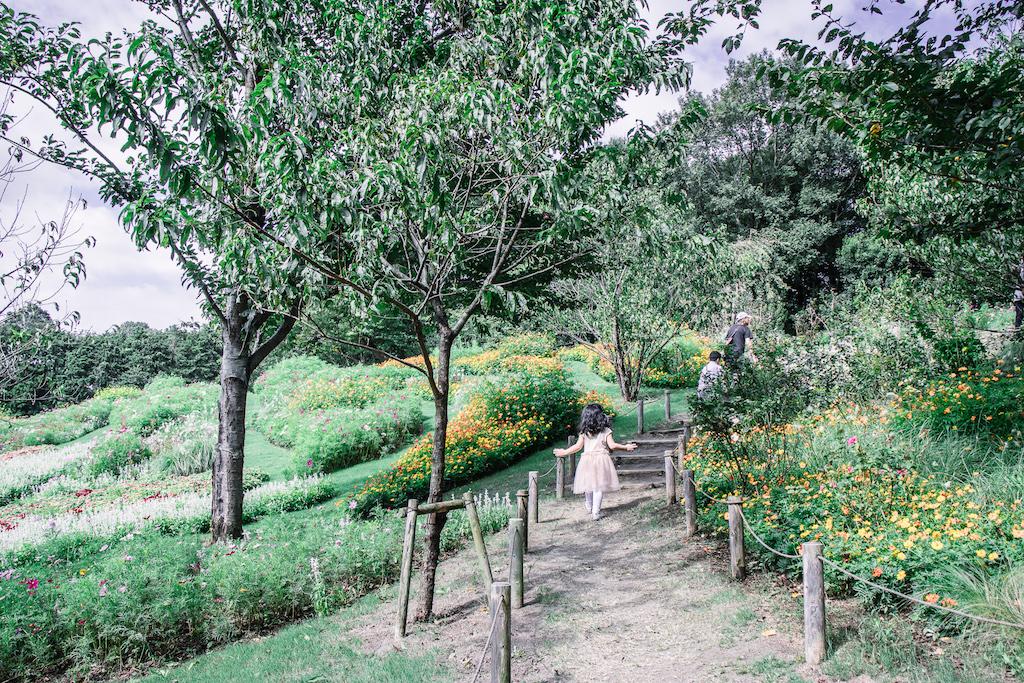 Yokohama Garden Necklace flower park pathway