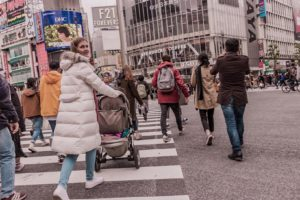 3 Tips Shibuya underground with kids and stroller