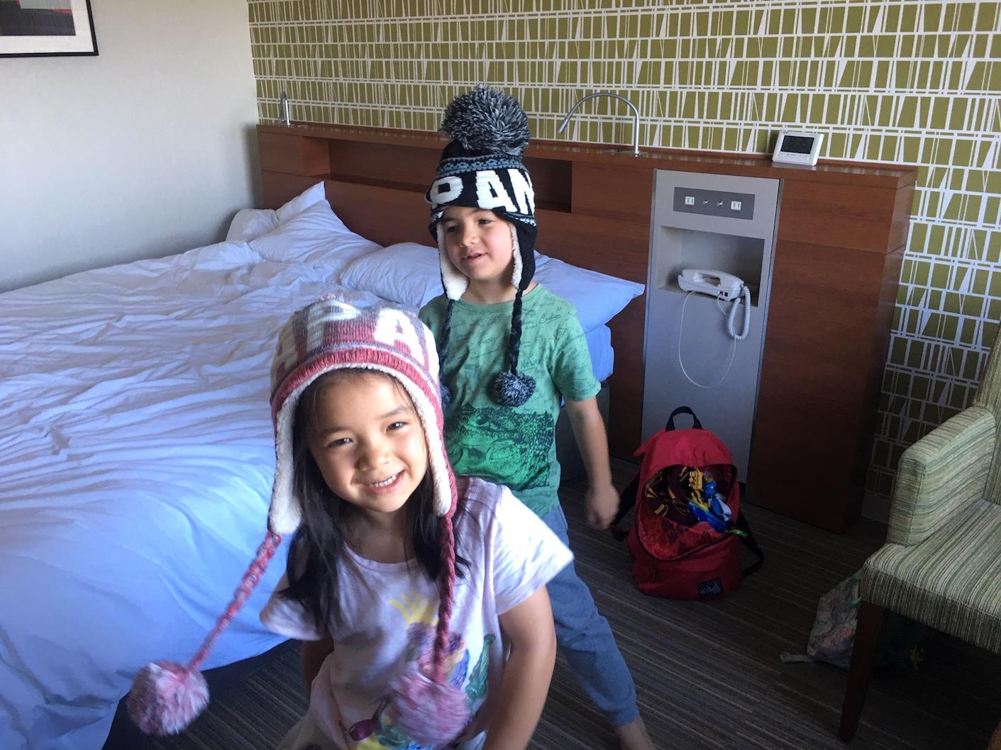 Narita Airport hotel room
