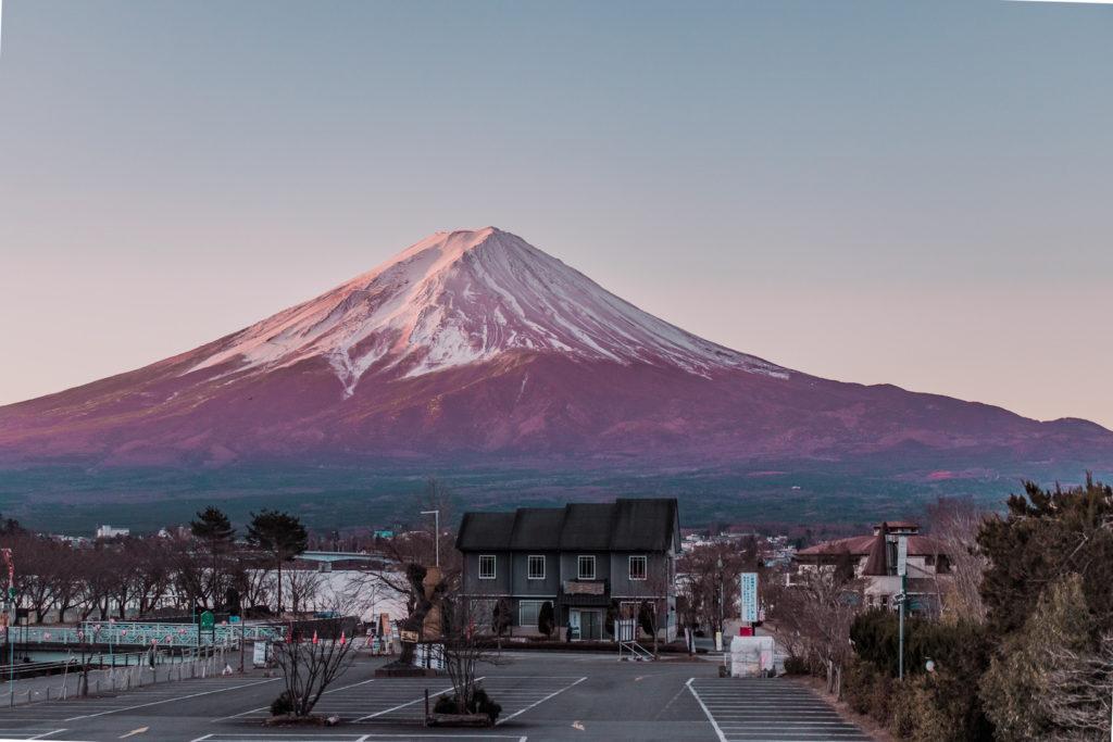Mt Fuji kid-friendly hotel with view