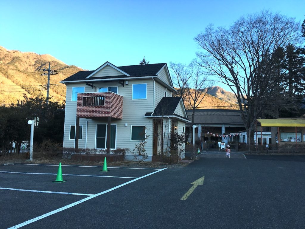 Mt Fuji view cottage with kids