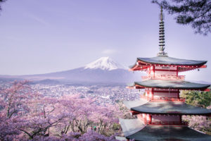 Chureito Pagoda Mt Fuji with kids tips