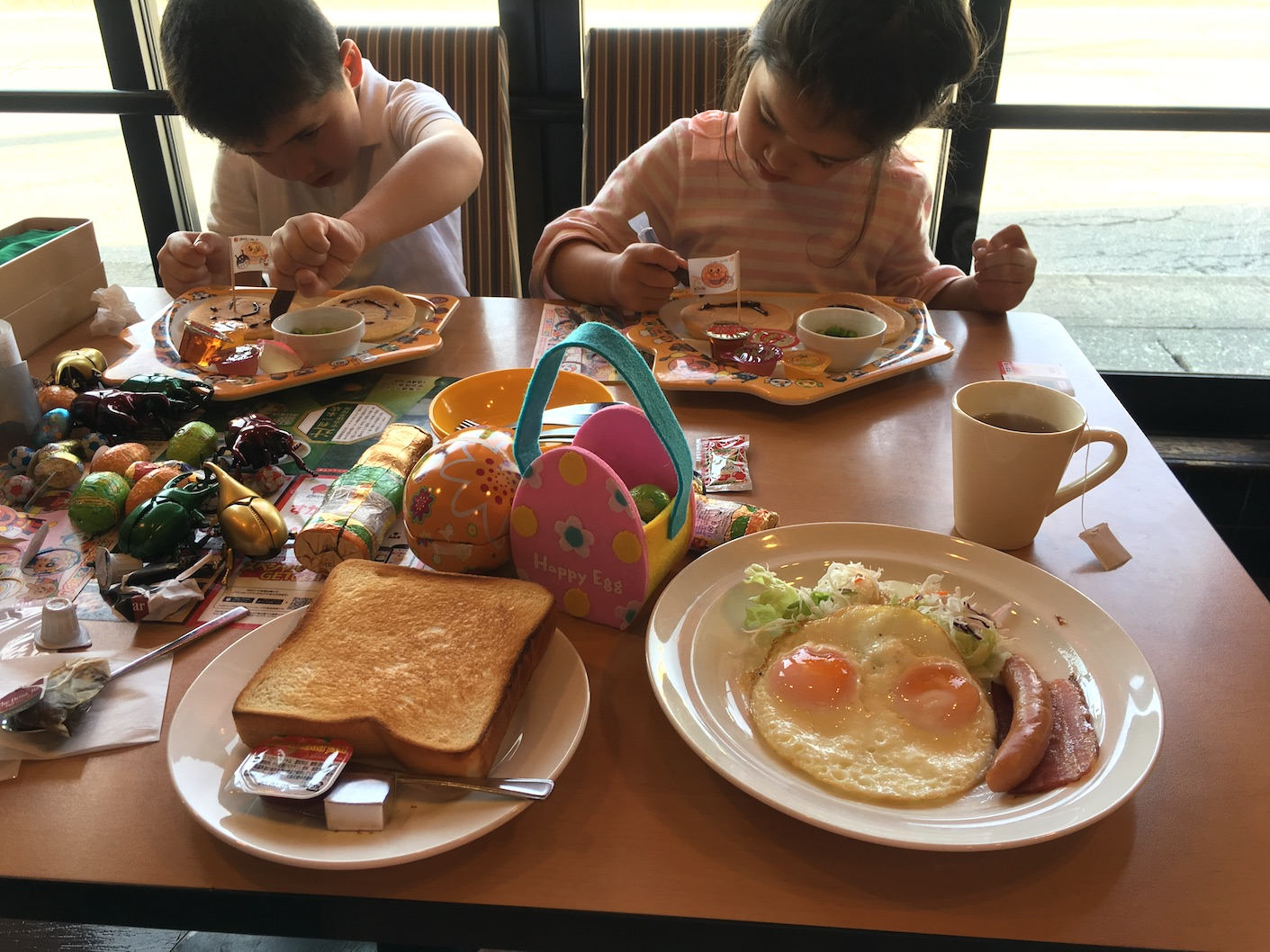 Mt Fuji Kawaguchiko child friendly restaurant breakfast