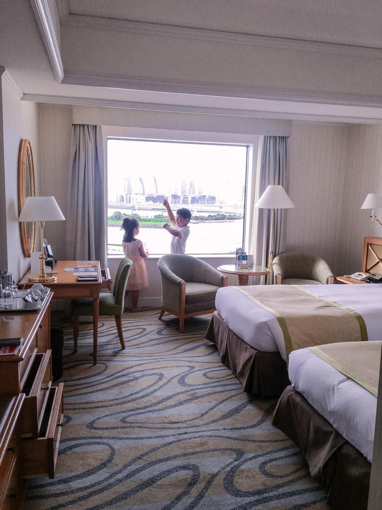 Grand Nikko Hotel Odaiba twin room view