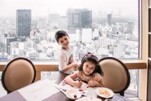 Shibuya Excel Hotel Tokyu breakfast A Bientot