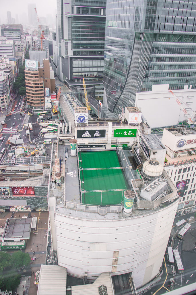 Shibuya Excel Hotel Tokyu incredible view