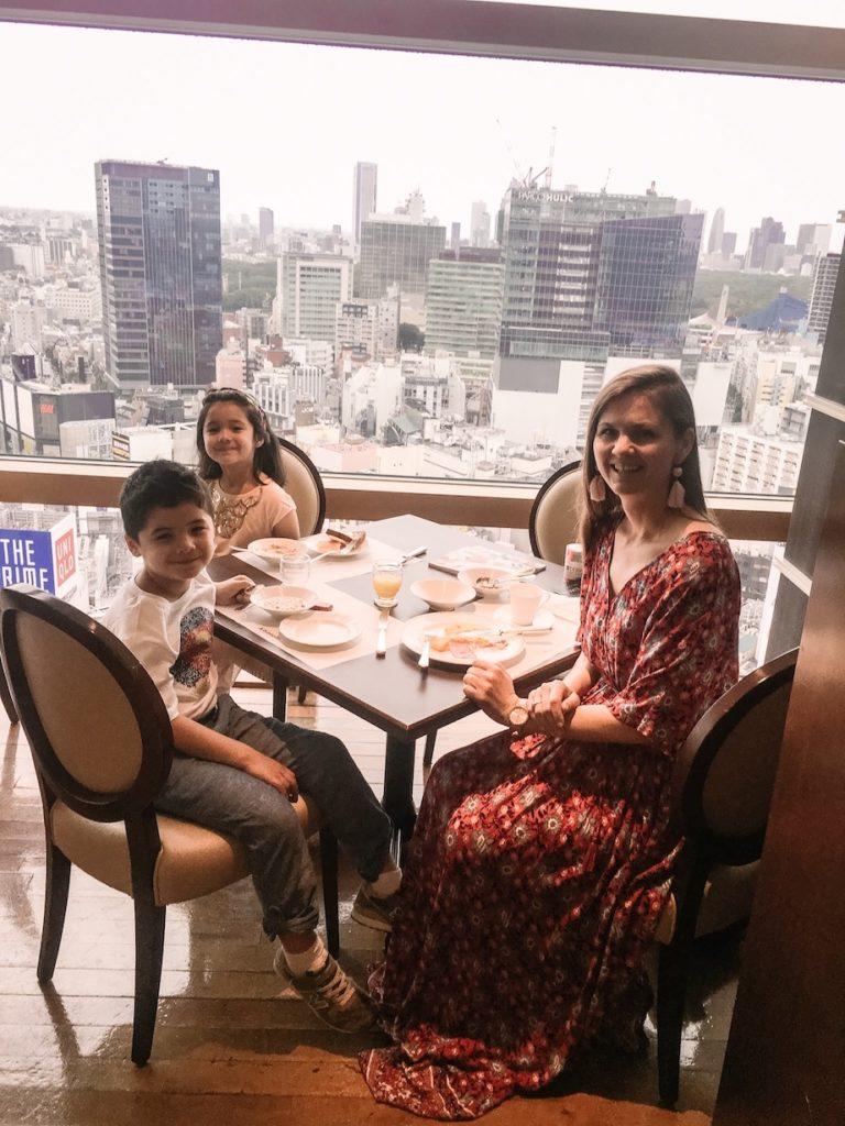 Shibuya Excel Hotel Tokyu with kids breakfast